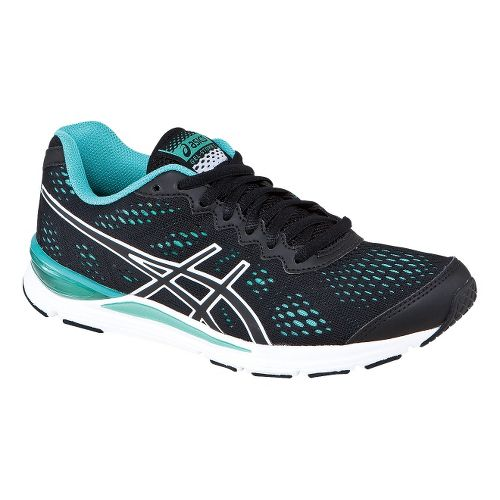 Womens ASICS GEL-Storm 2 Running Shoe - Black/Onyx 5.5