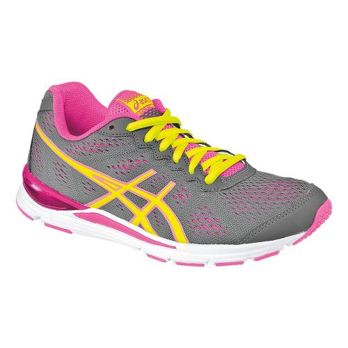 Womens ASICS GEL-Storm 2 Running Shoe - Storm/Flash Yellow 5