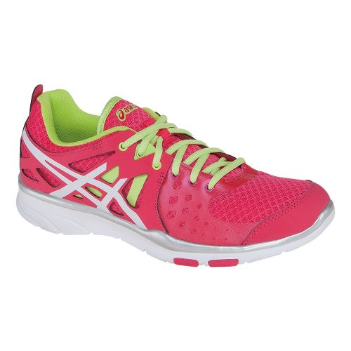 Womens ASICS GEL-Sustain TR 2 Cross Training Shoe - Raspberry/White 10.5