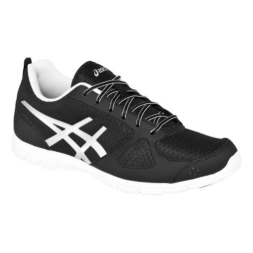 Womens ASICS GEL-Muse Fit Cross Training Shoe - Black/Silver 6.5