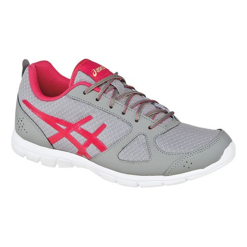 Womens ASICS GEL-Muse Fit Cross Training Shoe - Penguin/Raspberry 5