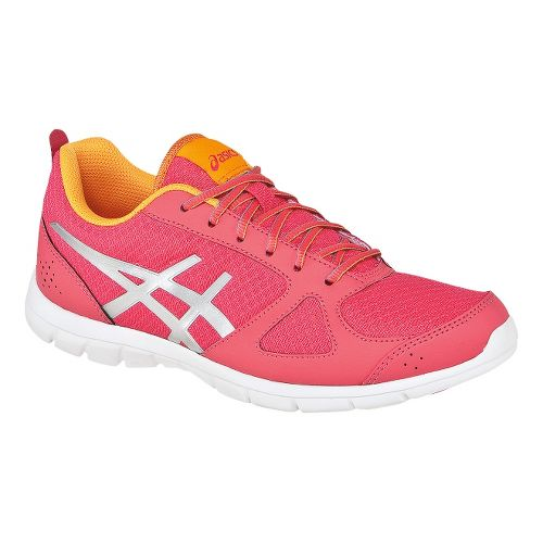 Womens ASICS GEL-Muse Fit Cross Training Shoe - Raspberry/Silver 6.5