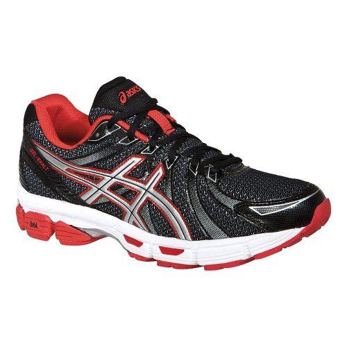 Mens ASICS GEL-Exalt Running Shoe - Black/Silver 6.5