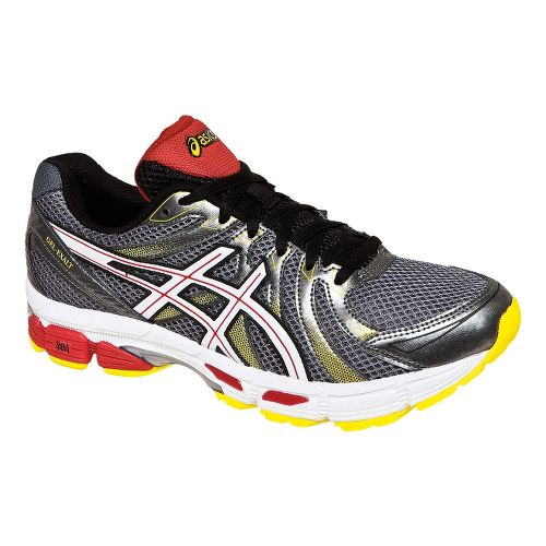Mens ASICS GEL-Exalt Running Shoe - Carbon/White 10.5