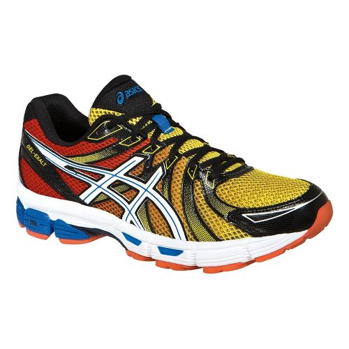Mens ASICS GEL-Exalt Running Shoe - Red/Black 13