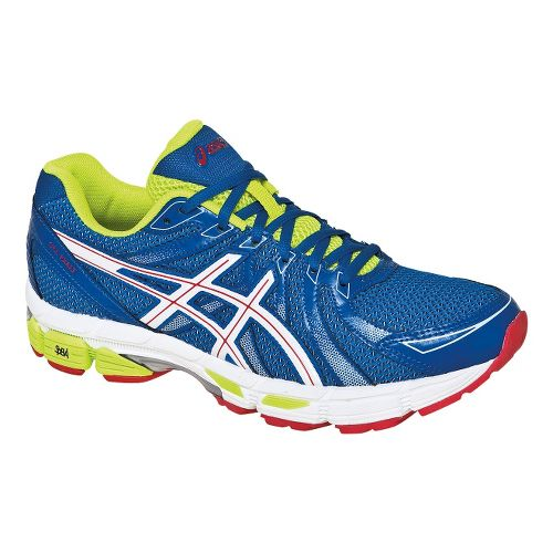Mens ASICS GEL-Exalt Running Shoe - Ultra Marine/White 15