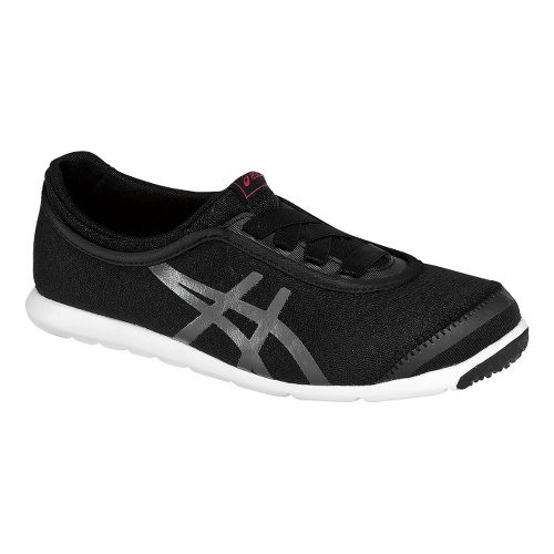 Womens ASICS Metrowalk Walking Shoe - Black/Granite 7.5