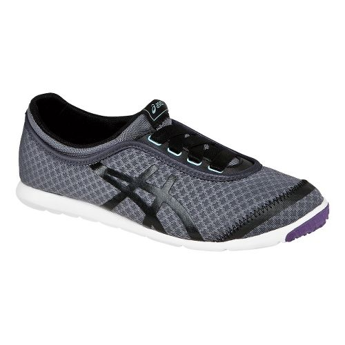 Womens ASICS Metrowalk Walking Shoe - Granite/Black 11.5