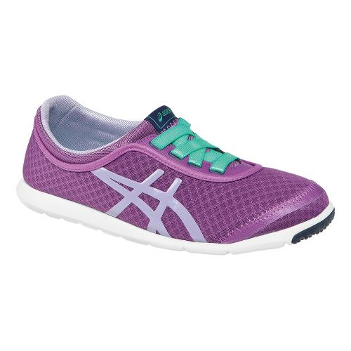 Womens ASICS Metrowalk Walking Shoe - Orchid/Mint 11.5