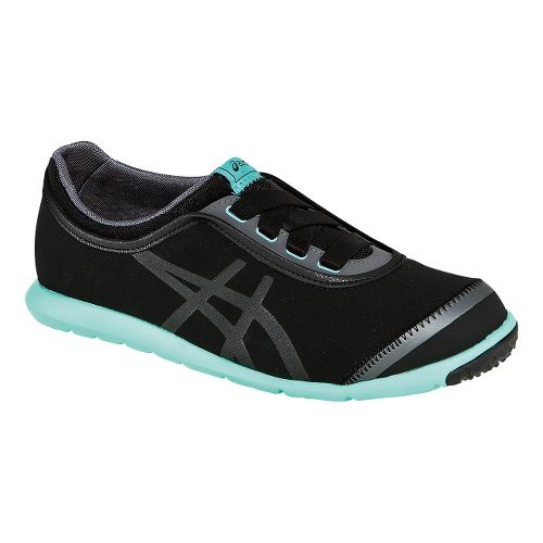 Womens ASICS Metrowalk SL Walking Shoe - Black/Onyx 8.5
