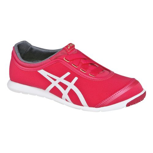 Womens ASICS Metrowalk SL Walking Shoe - Raspberry/White 7.5
