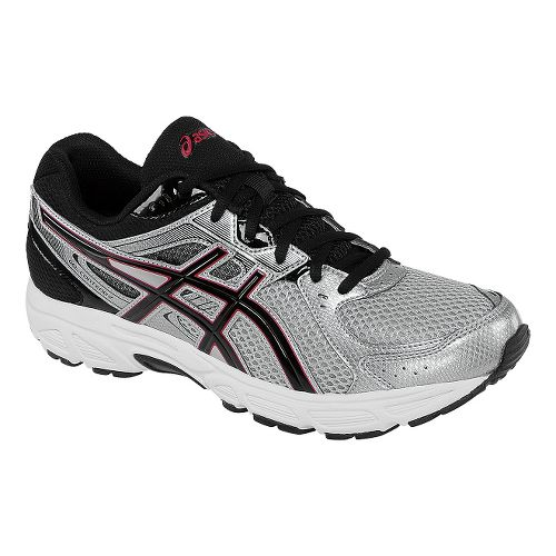 Mens ASICS GEL-Contend 2 Running Shoe - Lightning/Black 12