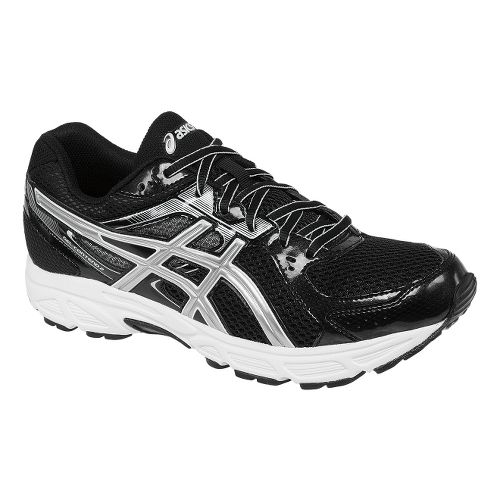 Mens ASICS GEL-Contend 2 Running Shoe - Black/Platinum 6.5