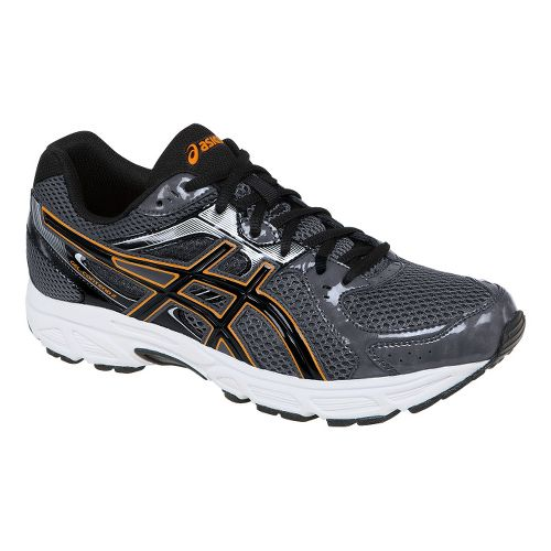 Mens ASICS GEL-Contend 2 Running Shoe - Titanium/Orange 14