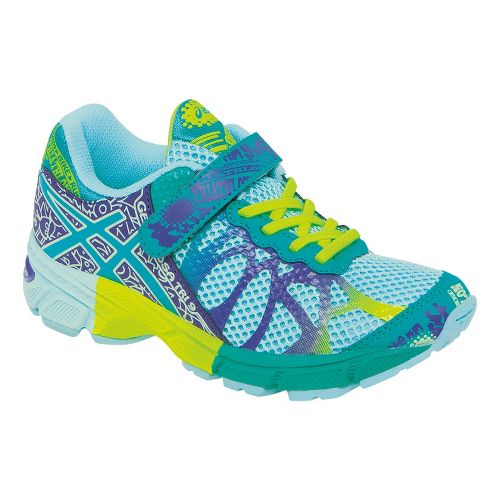 Kids ASICS GEL-Noosa Tri 9 PS Running Shoe - Ice Blue/Emerald 1.5