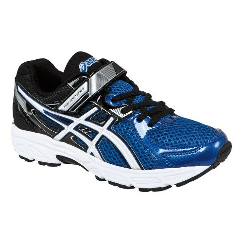 Kids ASICS PRE-Contend 2 PS Running Shoe - Royal/White 3