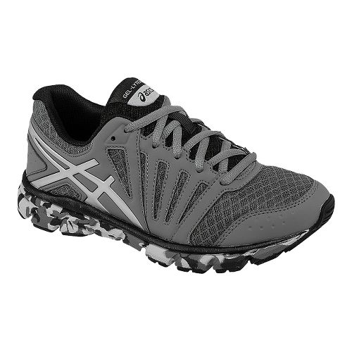 Kids ASICS GEL-Lyte33 2 GS Running Shoe - Titanium/Silver 6