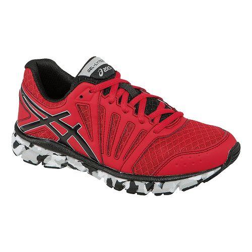 Kids ASICS GEL-Lyte33 2 GS Running Shoe - Fiery Red/Black 1.5