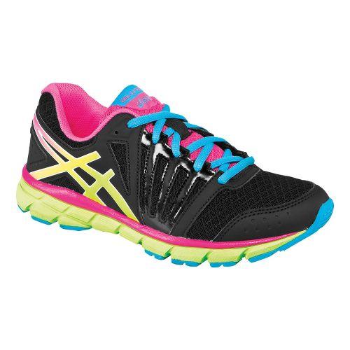Kids ASICS GEL-Lyte33 2 GS Running Shoe - Black/Flash Yellow 3.5