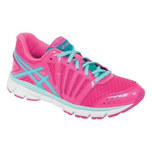Kids ASICS GEL-Lyte33 2 Running Shoe - Hot Pink/Ink Blue 6Y