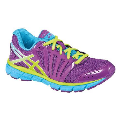 Kids ASICS GEL-Lyte33 2 GS Running Shoe - Purple/Blazing Yellow 3