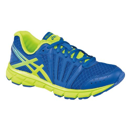 Kids ASICS GEL-Lyte33 2 GS Running Shoe - Royal/Flash Yellow 2.5