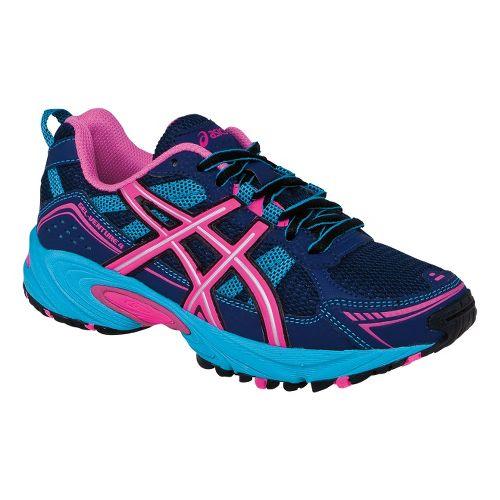 Kids ASICS GEL-Venture 4 GS Trail Running Shoe - Blue Depths/Hot Pink 7