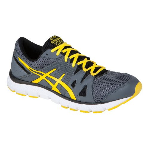 Mens ASICS GEL-Unifire TR Cross Training Shoe - Charcoal/Yellow 11.5