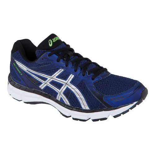 Mens ASICS GEL-Excite 2 Running Shoe - Navy/Lightning 8