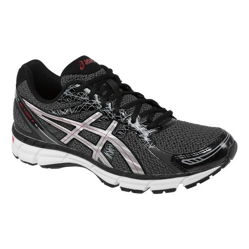 Mens ASICS GEL-Excite 2 Running Shoe - Black/Lightning 9.5
