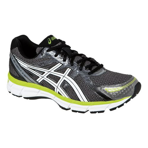 Mens ASICS GEL-Excite 2 Running Shoe - Carbon/White 7