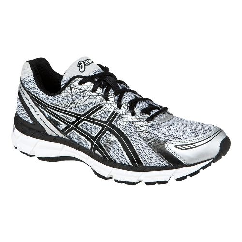 Mens ASICS GEL-Excite 2 Running Shoe - White/Black 11.5