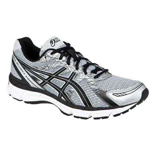 Mens ASICS GEL-Excite 2 Running Shoe - White/Black 14