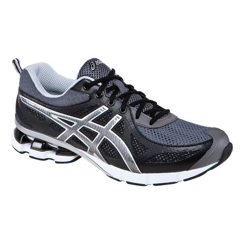 Mens ASICS GEL-Fierce Running Shoe - Black/Onyx 11