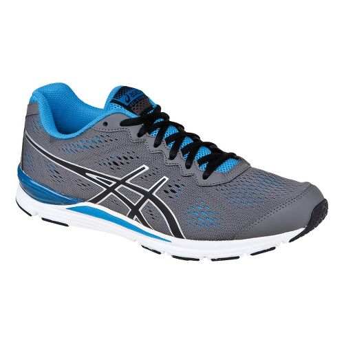 Mens ASICS GEL-Storm 2 Running Shoe - Granite/Black 10.5