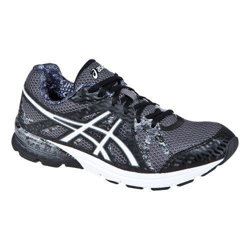Mens ASICS GEL-Preleus Running Shoe - Black/White 12