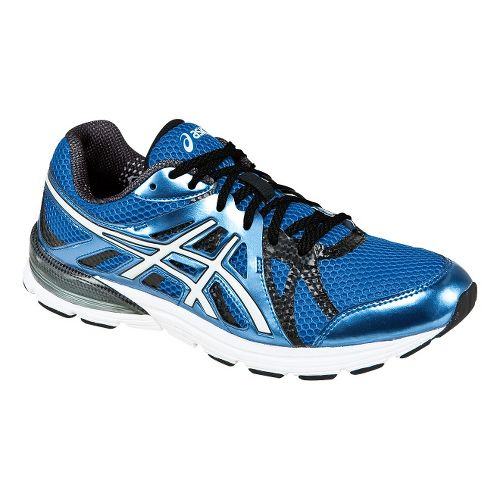 Mens ASICS GEL-Preleus Running Shoe - Blue/White 11.5
