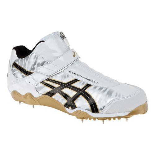 ASICS Cyber Javelin London Track and Field Shoe - White/Gold 7.5