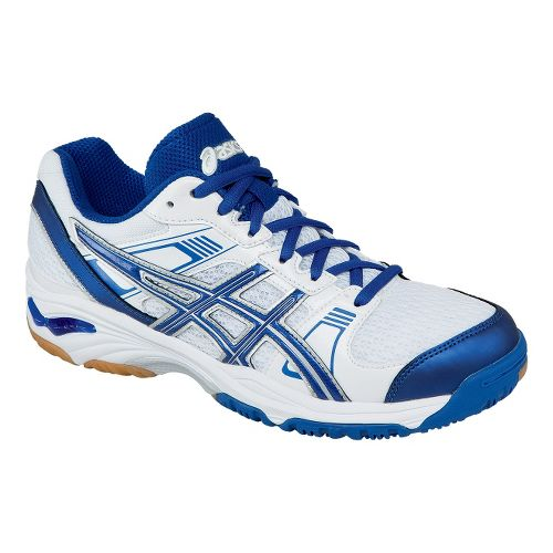 Womens ASICS GEL-1140V Court Shoe - White/Royal 7.5