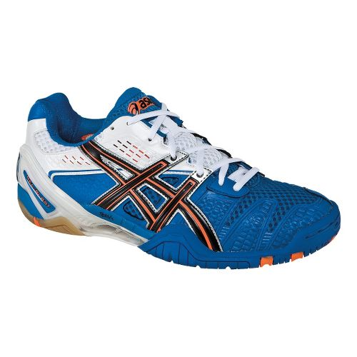 Mens ASICS GEL-Blast 5 Court Shoe - Royal Blue/Black 8