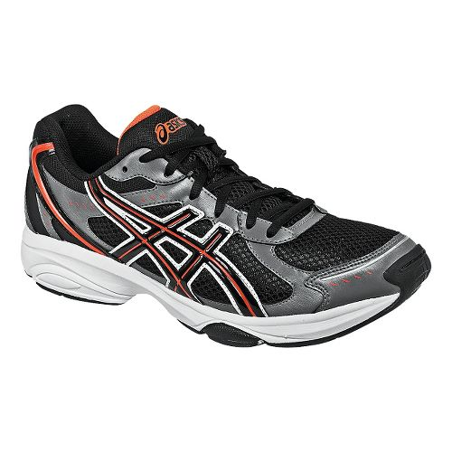 Mens ASICS GEL-Express 4 Cross Training Shoe - Black/Flame 8