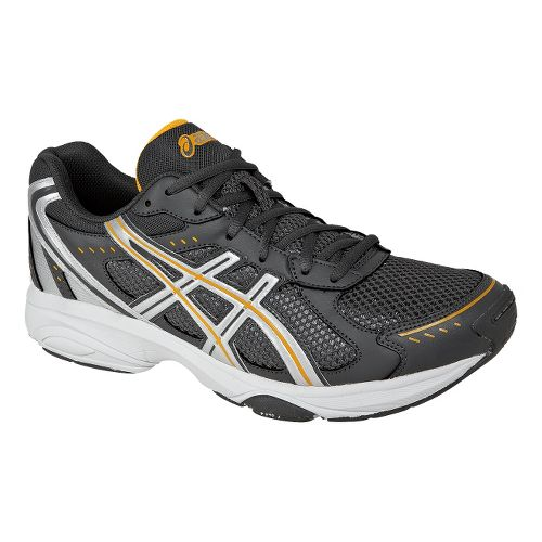 Mens ASICS GEL-Express 4 Cross Training Shoe - Gunmetal/Saffron 12.5