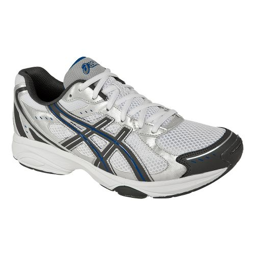 Mens ASICS GEL-Express 4 Cross Training Shoe - Silver/Charcoal 7.5