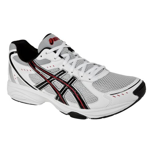 Mens ASICS GEL-Express 4 Cross Training Shoe - White/Black 9.5