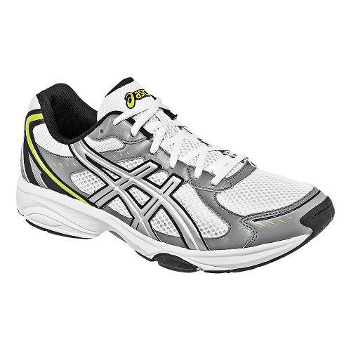 Mens ASICS GEL-Express 4 Cross Training Shoe - White/Silver 11.5