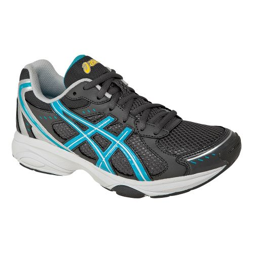 Womens ASICS GEL-Express 4 Cross Training Shoe - Charcoal/Turquoise 10.5