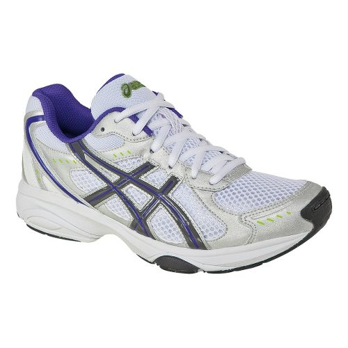 Womens ASICS GEL-Express 4 Cross Training Shoe - Silver/Charcoal 6.5