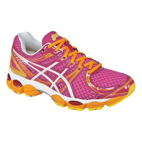 Womens ASICS GEL-Evate Running Shoe - Hot Pink/White 12