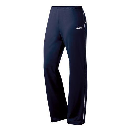 Womens ASICS Alana Full Length Pants - Navy/White MT