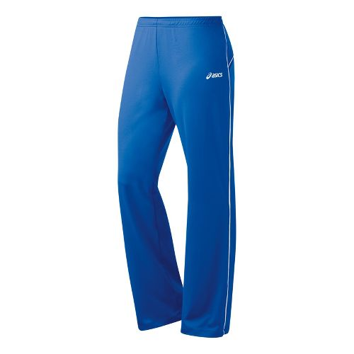 Womens ASICS Alana Full Length Pants - Royal/White 2X